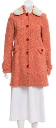 Marc Jacobs Wool Tweed Coat