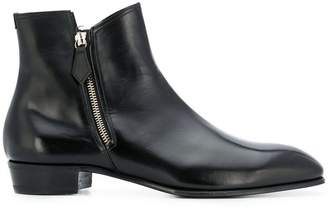 Lidfort side zip ankle boots