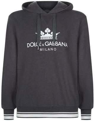 Dolce & Gabbana Regal Logo Hoodie