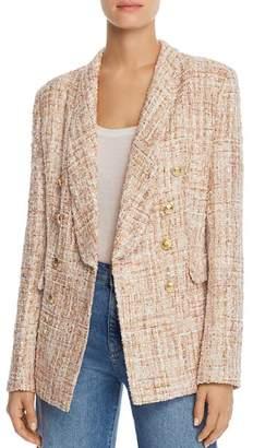 Aqua Tweed Double-Breasted Blazer - 100% Exclusive