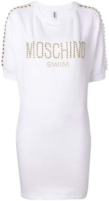 Moschino logo printed T-shirt dress