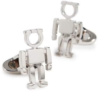 Salvatore Ferragamo Gancio Robot Cufflinks