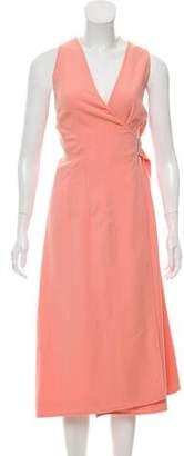 Balenciaga Wrap Midi Dress w/ Tags