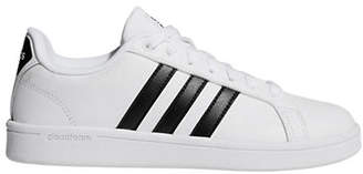 adidas Womens Cloudfoam Advantage Leather Sneakers