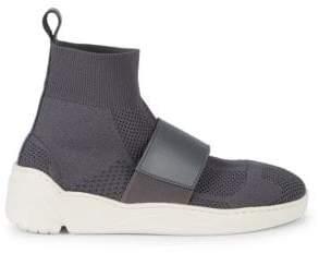 J/Slides Knit Platform Sock Booties