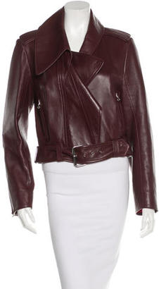 Mugler Leather Biker Jacket $650 thestylecure.com