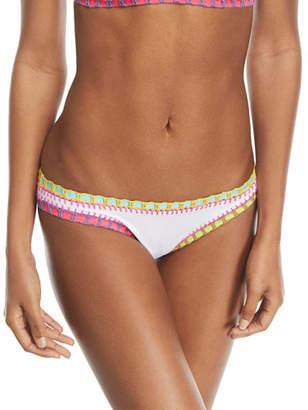 62da1bfe5249a Solange Platinum Inspired by Ferrarini Crochet-Trim Scoop Swim Bikini  Bottom
