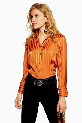 Topshop Striped Shirt