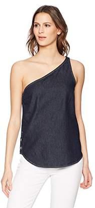 Calvin Klein Jeans Women's One Shoulder Blouse