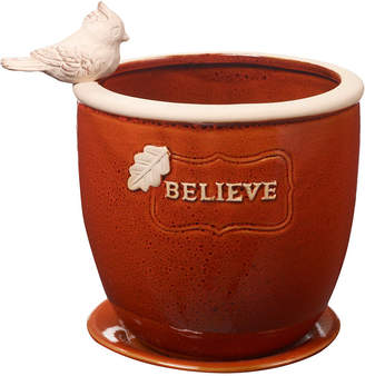Precious Moments Believe Large Garden Planter