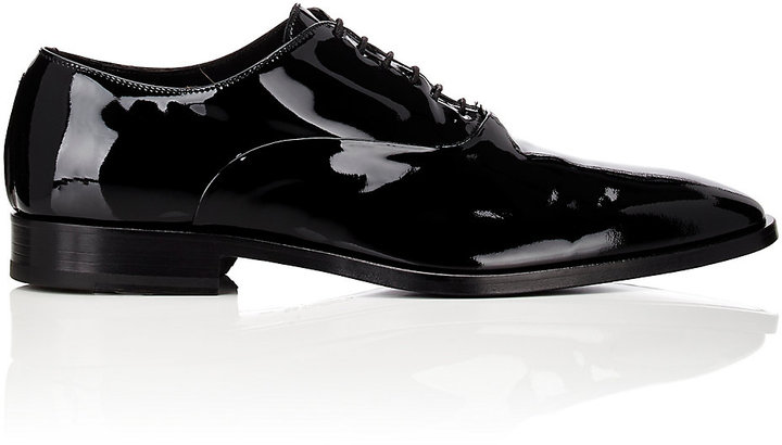 Barneys New York Barneys New York Men's Plain-Toe Balmorals