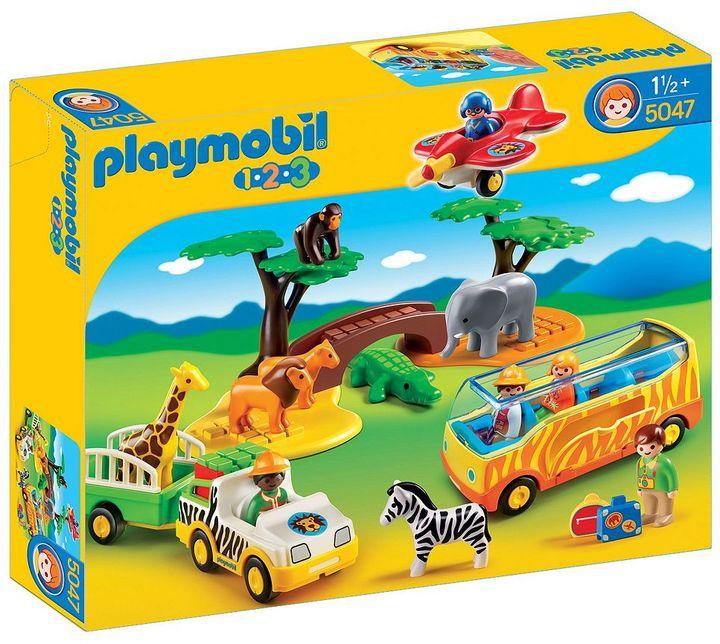 Playmobil 1 2 3 Large African Safari Playset - 5047