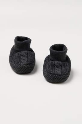 H&M Knit Slipper Socks - Black