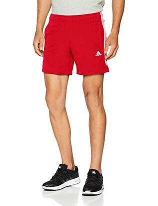 adidas Men's Essentials 3-Stripes Chelsea Shorts,Small