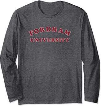 NCAA Fordham Rams Women's College Long Sleeve Tee RYLFOR01