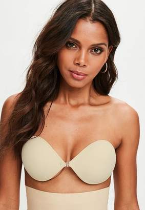 Missguided Nude Secret Stick On Strapless Bra
