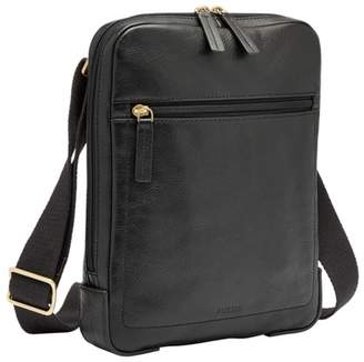 Fossil Haskell Courier Bag Black