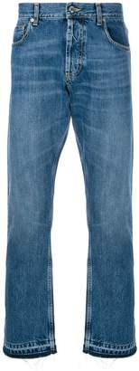 Alexander McQueen classic straight jeans