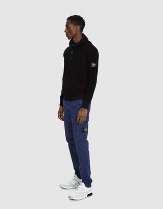 Stone Island Garment Dyed Old Effect Cargo Pant in Ink