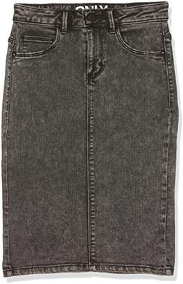 Only Women's Onlrain Pencil PNT Cry4990 Skirt,(Manufacturer Size: X-Small)