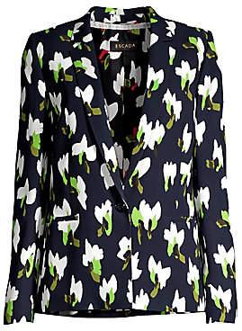 Escada Women's Baurento Abstract Floral Blazer