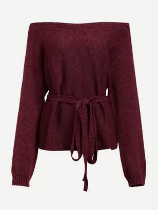 a494058d86 Brown Off Shoulder Women s Sweaters - ShopStyle