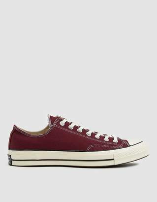 Converse Chuck Taylor '70 Low Sneaker in Dark Burgundy