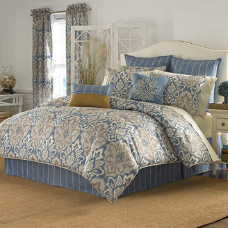 Croscill Classics Wainscott Medallion 4-pc. Comforter Set