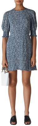 Whistles Josefina Printed Mini Dress