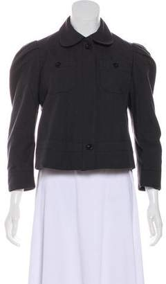 See by Chloe Cropped Button-Up Jacket
