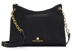 Vince Camuto Tasia Leather Crossbody Bag $198 thestylecure.com