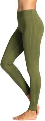 SYROKAN Women's Running Sports Tights Workout Leggings Comfort Flex Pants XL