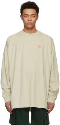 Acne Studios Bla Konst Off-White Carp Badge T-Shirt