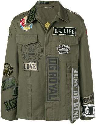 Dolce & Gabbana classic shirt jacket