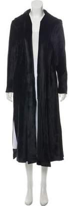Thom Browne Velvet Long Coat