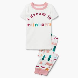 Gymboree Rainbow Dreams 2-Piece Pajamas