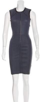 Yigal Azrouel Leather Sheath Dress w/ Tags