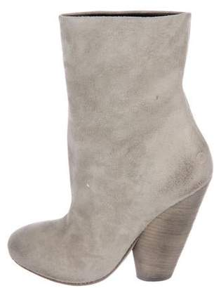 Marsèll Suede Ankle Booties