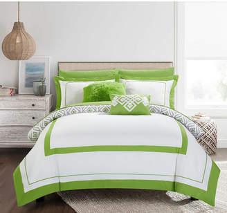 Chic Home Beckham 9-Pc Full Comforter Set Bedding