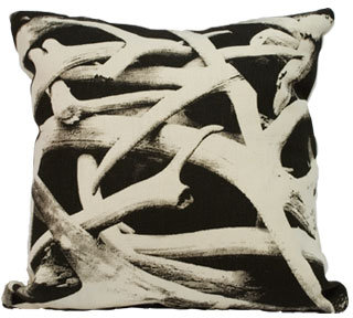 Snow Antler Pillow