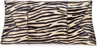 VBH Manila Stretch T Zebra Snake Clutch Bag