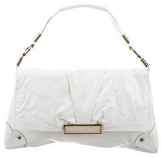 R & Y Augousti R&Y Augousti Patent Leather Handle Bag