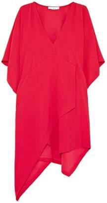 IRO Ekima Asymmetric Crepe Mini Dress