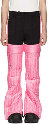 Colmar A.G.E. by Shayne Oliver Pink Quilted Trousers