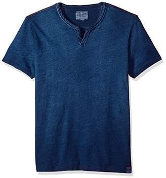 Lucky Brand Men's Notch Neck Tee Shirt