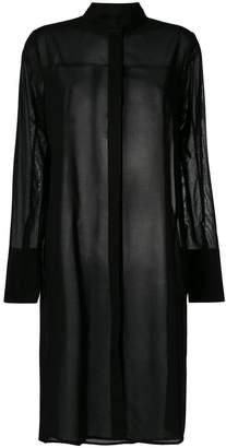 Demoo Parkchoonmoo sheer long-line tunic shirt