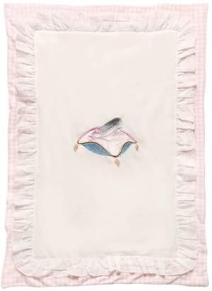 MonnaLisa Lightly Padded Chenille Blanket