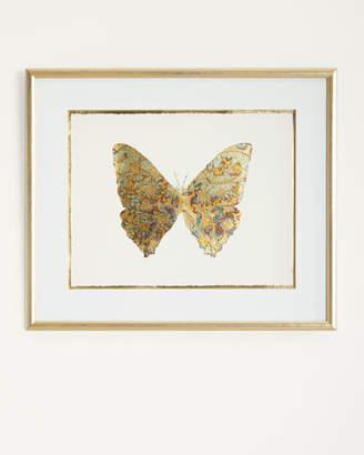 "John-Richard Collection Shimmering Butterfly V"" Artwork"