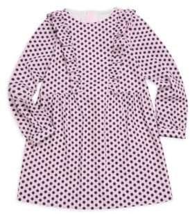 Milly Minis Little Girl's& Girl's Cotton-Blend Poplin Dress