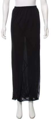 Shamask Silk Maxi Skirt